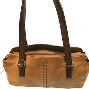 Fossil Coronado Stitch Leather Shoulder Bag ZB7023